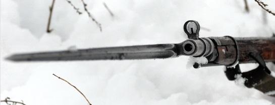 04а Штык на винтовке Мосина 01