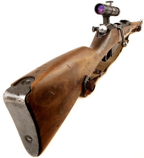винтовка Мосина обр. 1891 1930 гг. с оптическим прицелом ПУ (06)