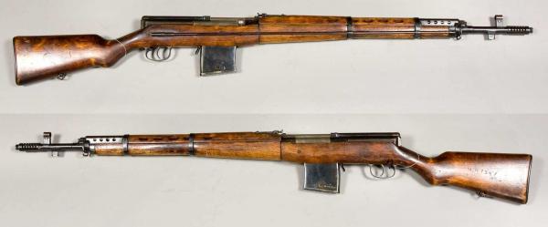 01 Самозарядная винтовка Токарева СВТ 38 (01)