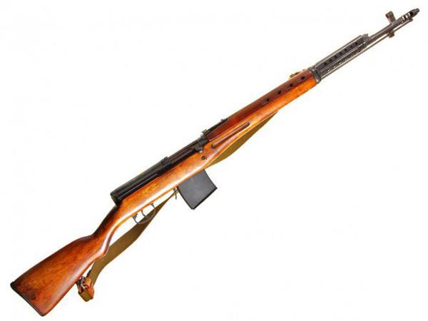 винтовка Токарева  СВТ 40 (02)