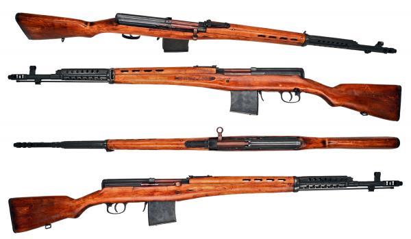 винтовка Токарева  СВТ 40 (01)