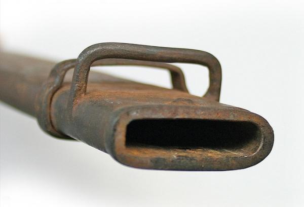 32 Устье ножен к штык ножу от СВТ 40 (02)