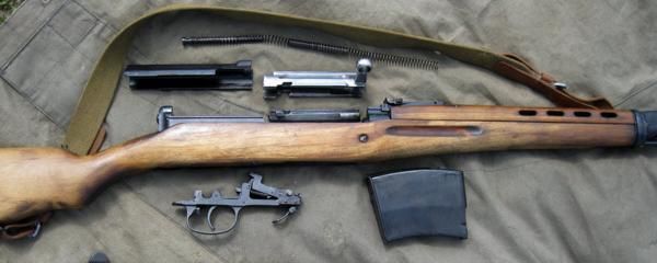 винтовка Токарева СВТ 40 25