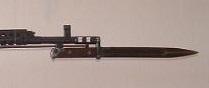 винтовка Токарева  СВТ 40 с примкнутым штыком 06