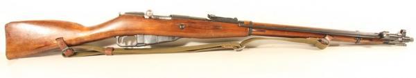 01 Экспериментальная (опытная) советская винтовка 1943 года с несъёмным игольчатым штыком 01