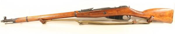02 Экспериментальная (опытная) советская винтовка 1943 года с несъёмным игольчатым штыком 02