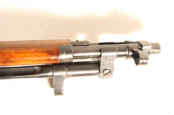 04 Экспериментальная (опытная) советская винтовка 1943 года с несъёмным игольчатым штыком 04