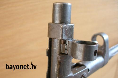 05 Экспериментальная (опытная) советская винтовка 1943 года с несъёмным игольчатым штыком 05