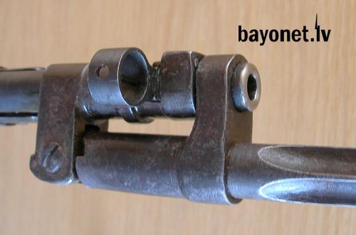 07 Экспериментальная (опытная) советская винтовка 1943 года с несъёмным игольчатым штыком 07