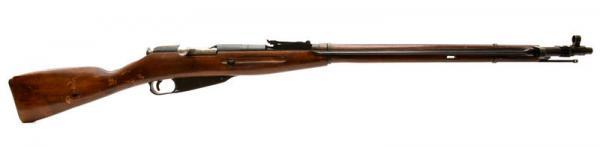 (опытная) советская винтовка 1943 года с несъёмным игольчатым штыком 11