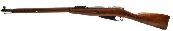 (опытная) советская винтовка 1943 года с несъёмным игольчатым штыком 12
