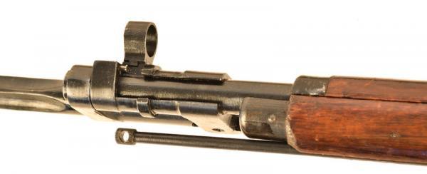 (опытная) советская винтовка 1943 года с несъёмным игольчатым штыком 20