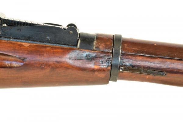 (опытная) советская винтовка 1943 года с несъёмным игольчатым штыком 15
