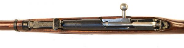 (опытная) советская винтовка 1943 года с несъёмным игольчатым штыком 14