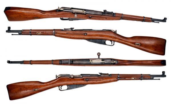 14   USSR Mosin Nagant M38 Carbine 76254mmR