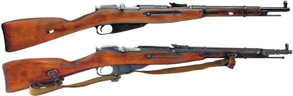 7,62 мм карабины обр. 1938 года и обр. 1944 года 01