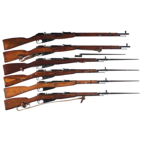 винтовки и карабины системы Мосина 02