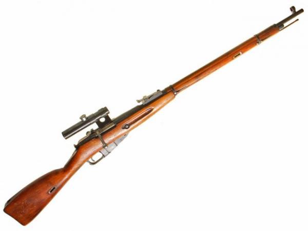 винтовка Мосина обр. 1891 1930 гг. с оптическим прицелом ПУ (02)