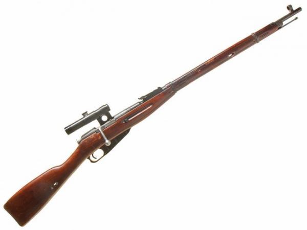 винтовка Мосина обр. 1891 1930 гг. с оптическим прицелом ПУ (02б)