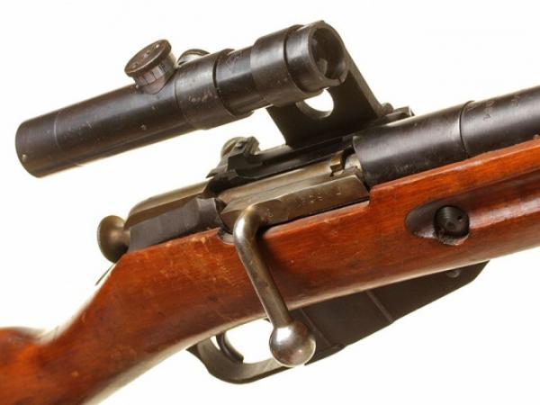 винтовка Мосина обр. 1891 1930 гг. с оптическим прицелом ПУ (07)