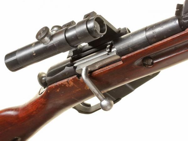 винтовка Мосина обр. 1891 1930 гг. с оптическим прицелом ПУ (09)