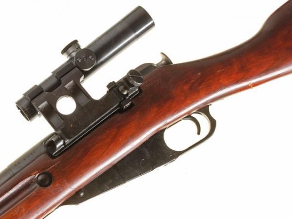 винтовка Мосина обр. 1891 1930 гг. с оптическим прицелом ПУ (10)