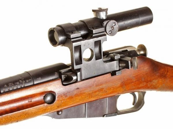 винтовка Мосина обр. 1891 1930 гг. с оптическим прицелом ПУ (08)