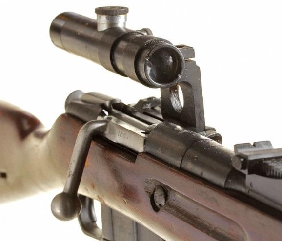 винтовка Мосина обр. 1891 1930 гг. с оптическим прицелом ПУ (11)