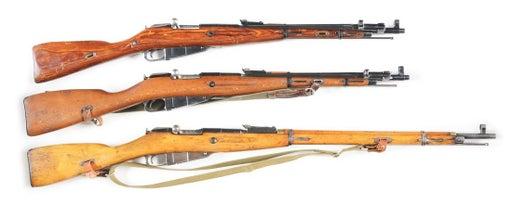 винтовки и карабины системы Мосина 01