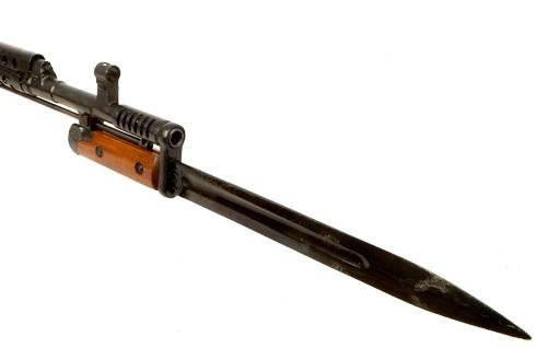 обр. 1940 года, примкнутый к винтовке Токарева СВТ 40 (03)