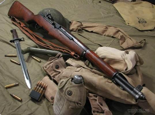 винтовка M1 Garand и штык обр. 1905 года 02