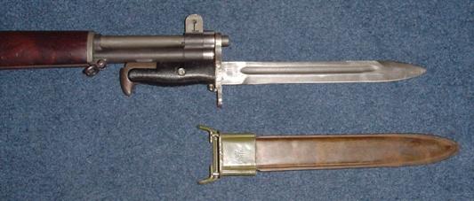 винтовка M1 Garand с примкнутым штыком M1 обр. 1943 года 10