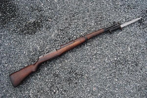 винтовка M1 Garand с примкнутым штыком M1 обр. 1943 года 07