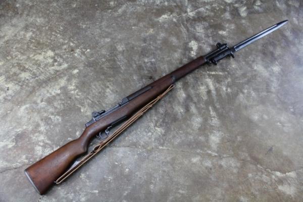 винтовка M1 Garand с примкнутым штыком обр. 1942 года 03
