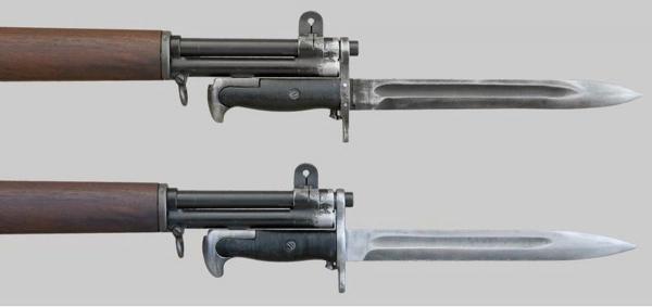 М1 обр. 1943 года, примкнутые к самозарядным винтовкам M1 Garand (01)