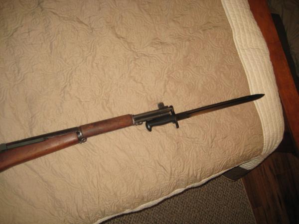 винтовка M1 Garand с примкнутым штыком обр. 1942 года 05