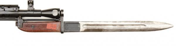 , установленный на стволе карабина СКС (СКС 31) 01