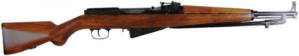 карабин Симонова с игольчатым штыком. Образец 1944 года 01