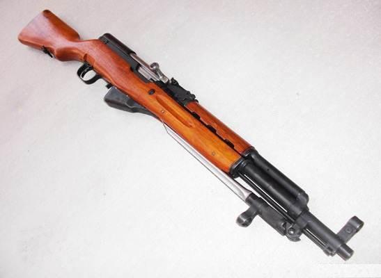 карабин Симонова (СКС 45) с игольчатым штыком 04