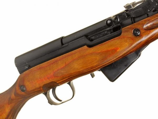 карабин Симонова (СКС 45) с игольчатым штыком 12