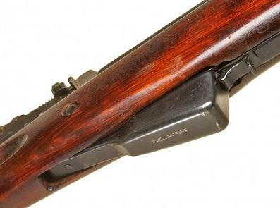 карабин Симонова (СКС 45) с клинковым штыком 14б
