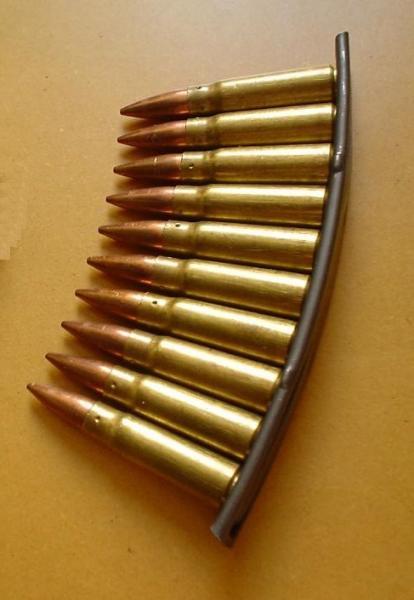 на 10 патронов 7,62×39 мм карабина СКС (01)