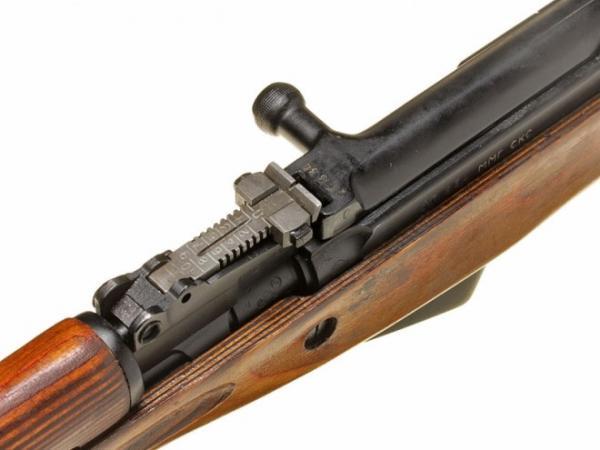 карабин Симонова (СКС 45) с игольчатым штыком 13