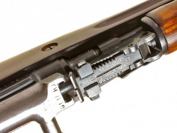 карабин Симонова (СКС 45) с клинковым штыком 19