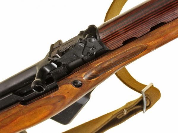 карабин Симонова (СКС 45) с клинковым штыком 32