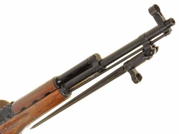 карабин Симонова (СКС 45) с игольчатым штыком 17
