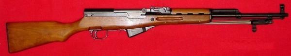 карабин Симонова (СКС 45) с игольчатым штыком 06