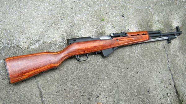 карабин Симонова (СКС 45) с игольчатым штыком 05