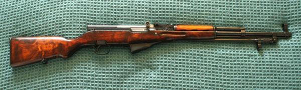карабин Симонова (СКС 45) с игольчатым штыком 21