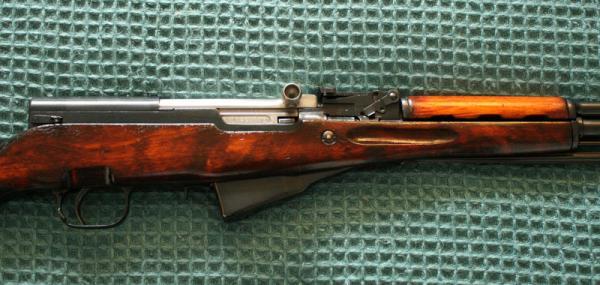 карабин Симонова (СКС 45) с игольчатым штыком 23
